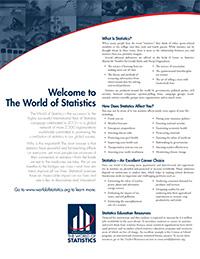 Careers in Statistics - World of Statistics